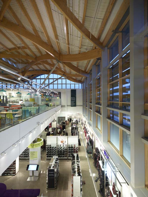 Eco Store Cheshire Oaks for Marks & Spencer plc