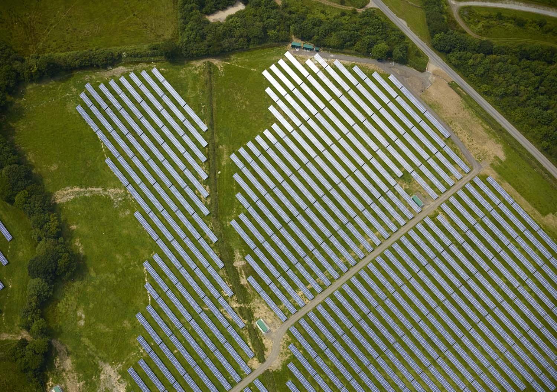 Solar Farm Cornwall