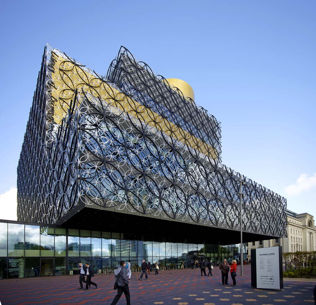 Birmingham Library for Johnstones Paints