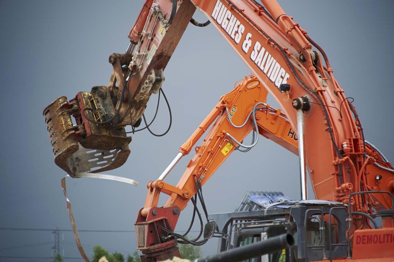 Demolition Newport for Hughes & Salvidge