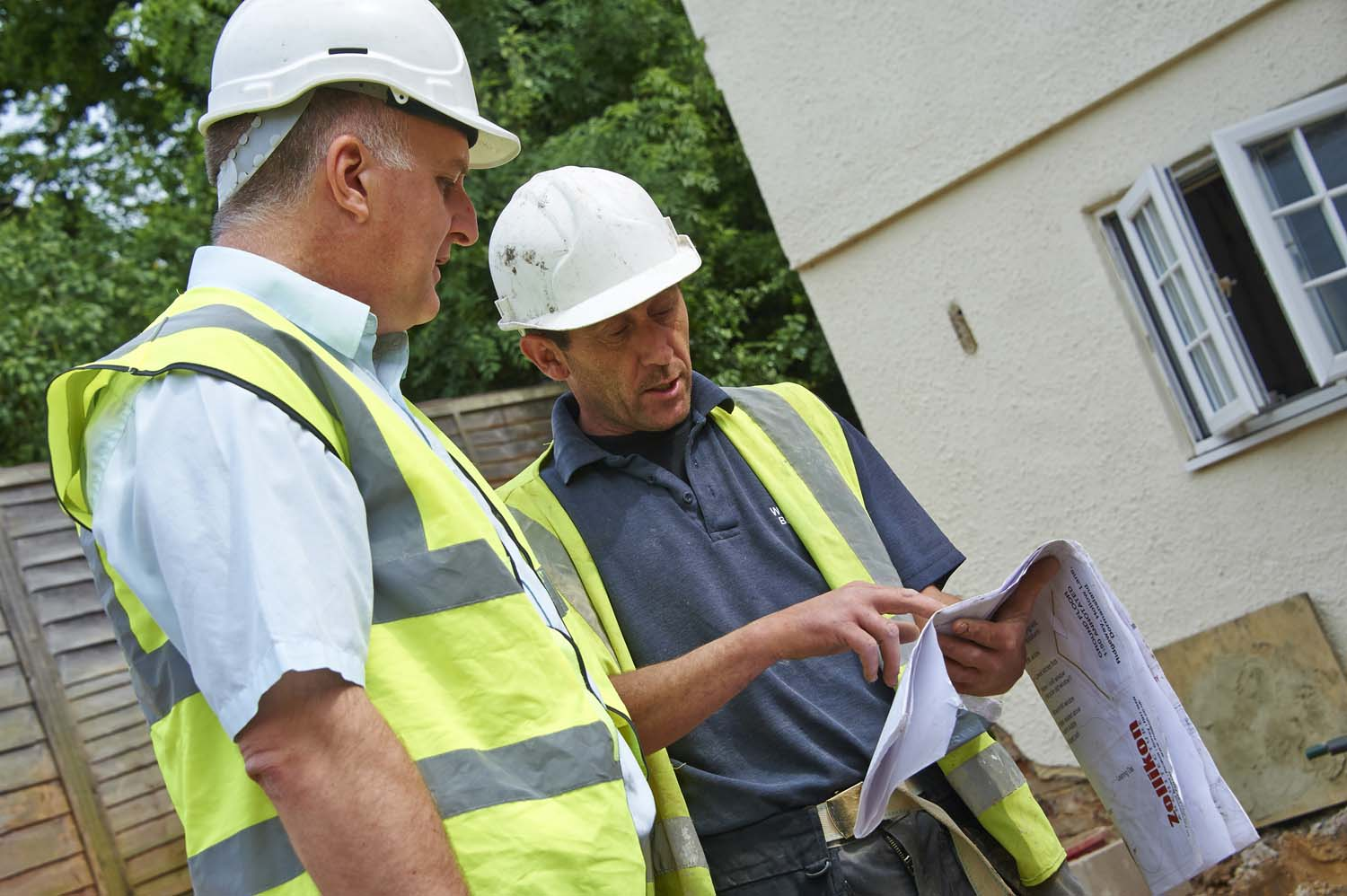 Building Inspector at work for LABC
