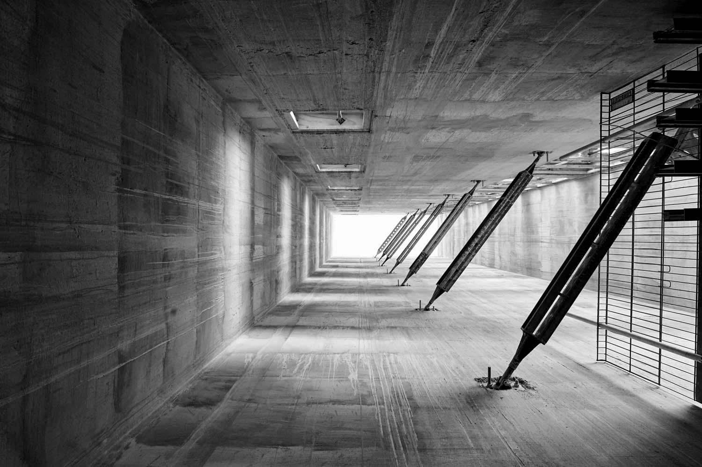 Concrete structure Slough for GCL