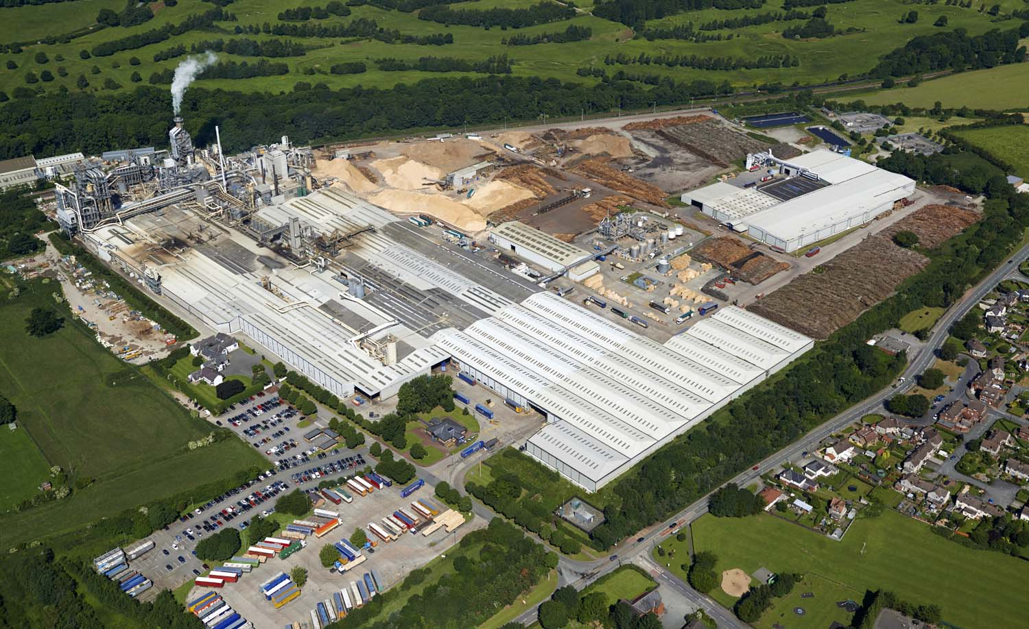 Wood Processing Site, North Wales