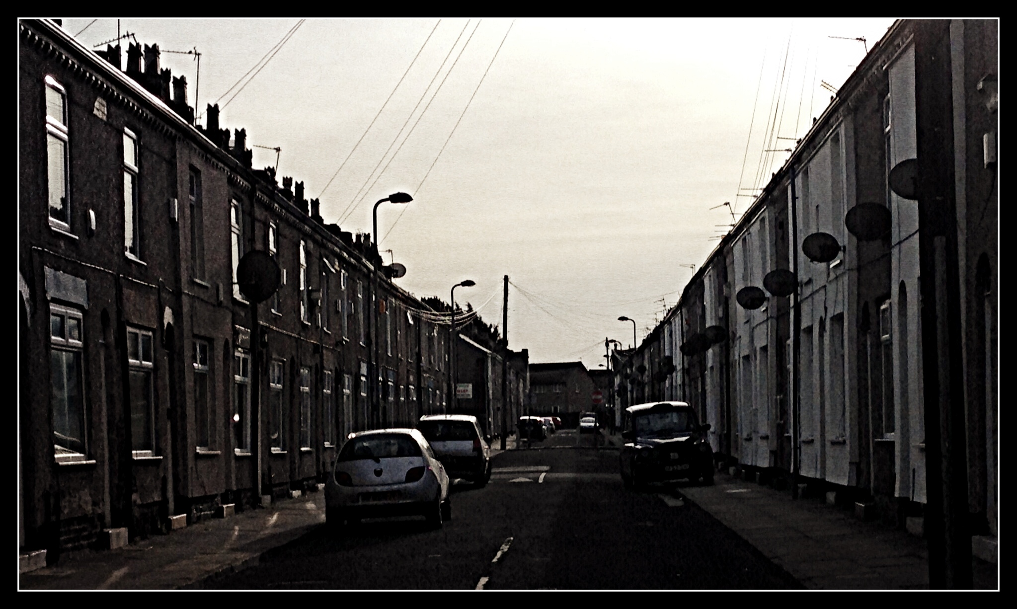 Street Scene Liverpool