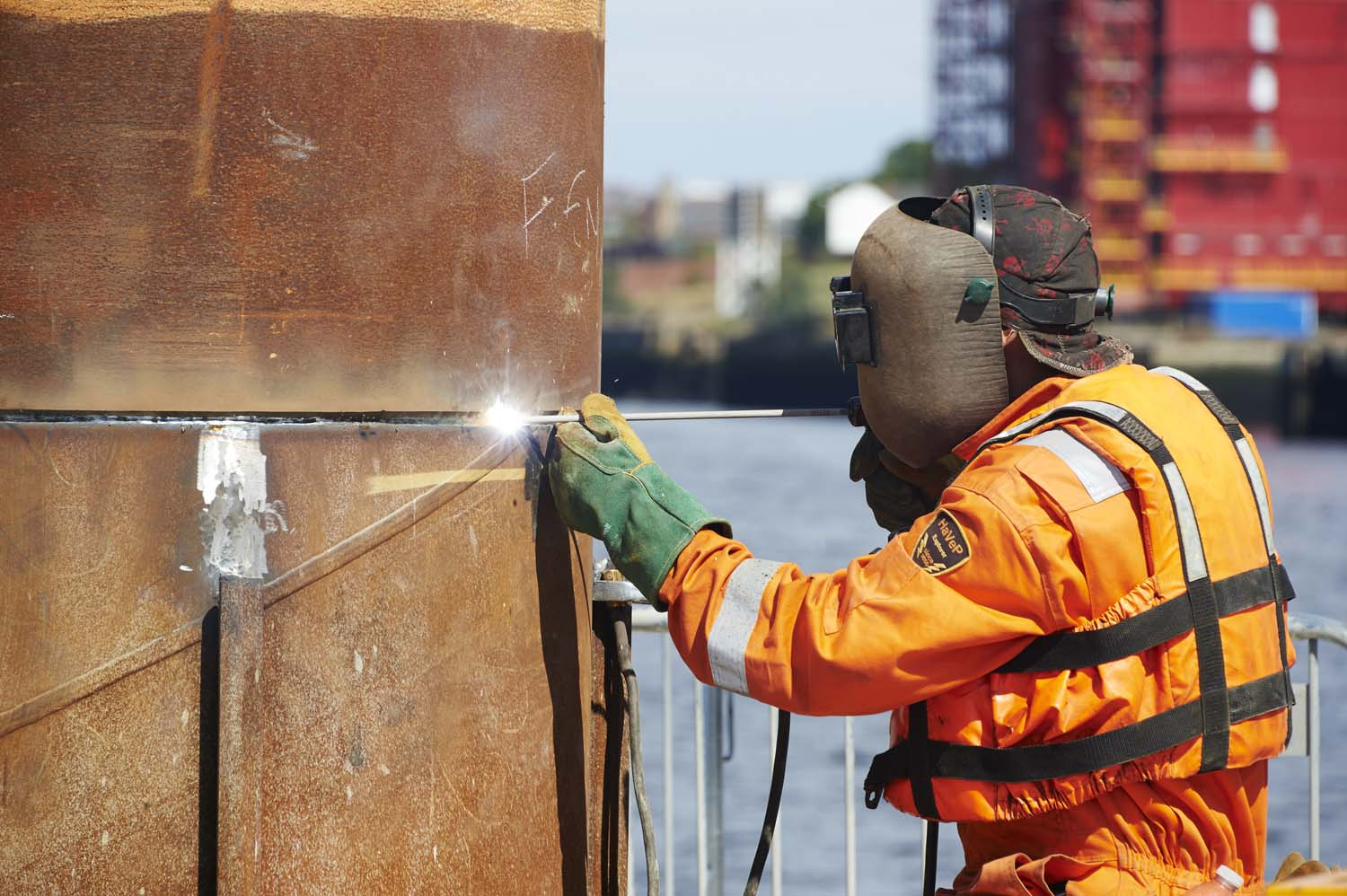 Port of Tyne works for Southbay Civil Engineering