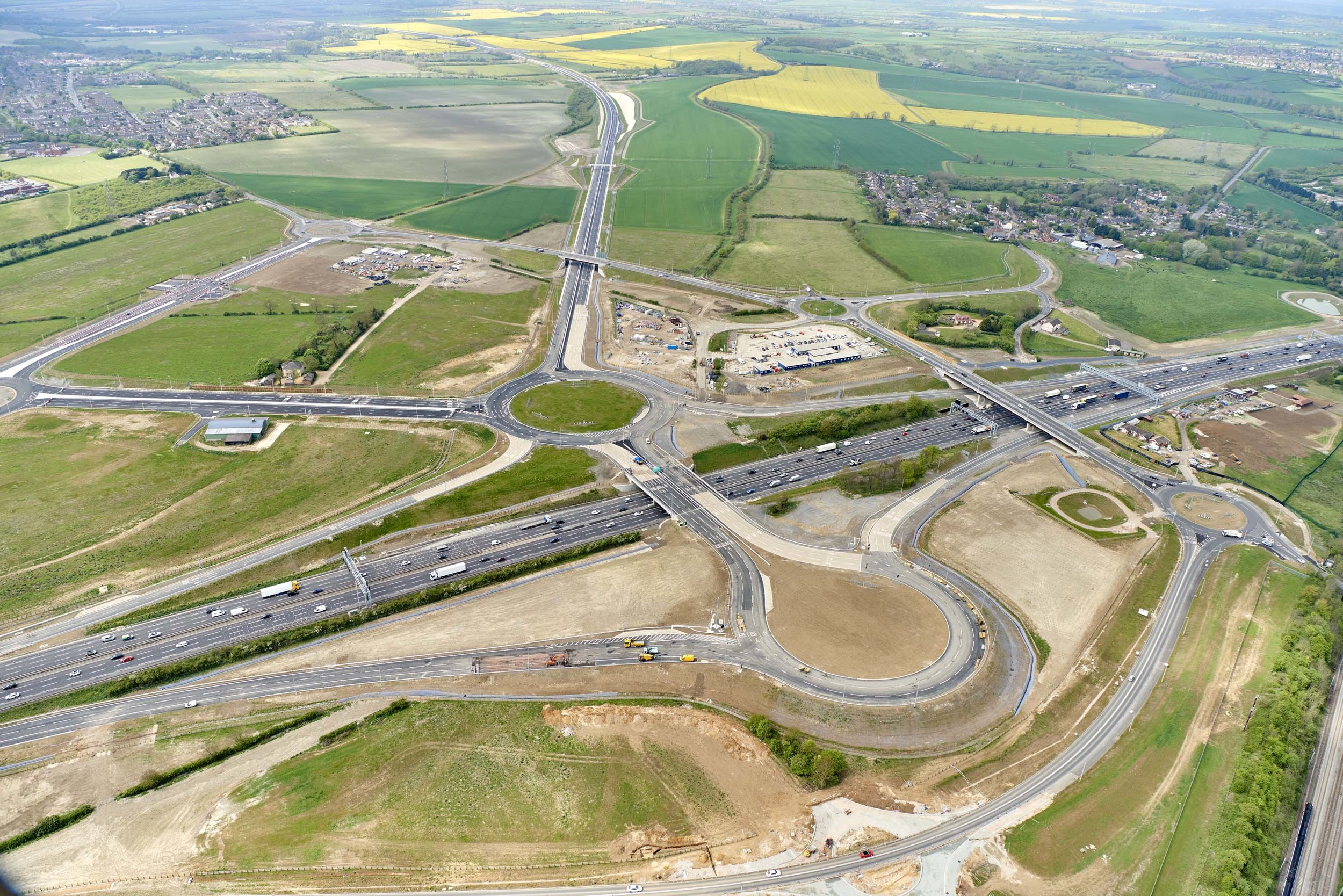 New Junction M1 and A5 Link, Luton, for Highways England
