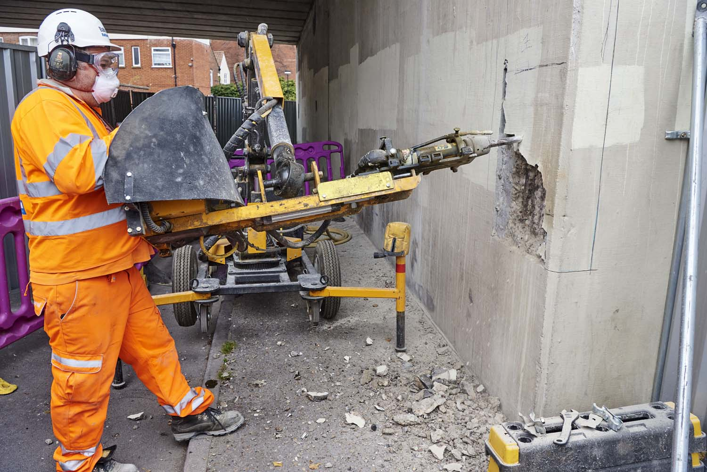 Bridge Works Norwich for Balvac