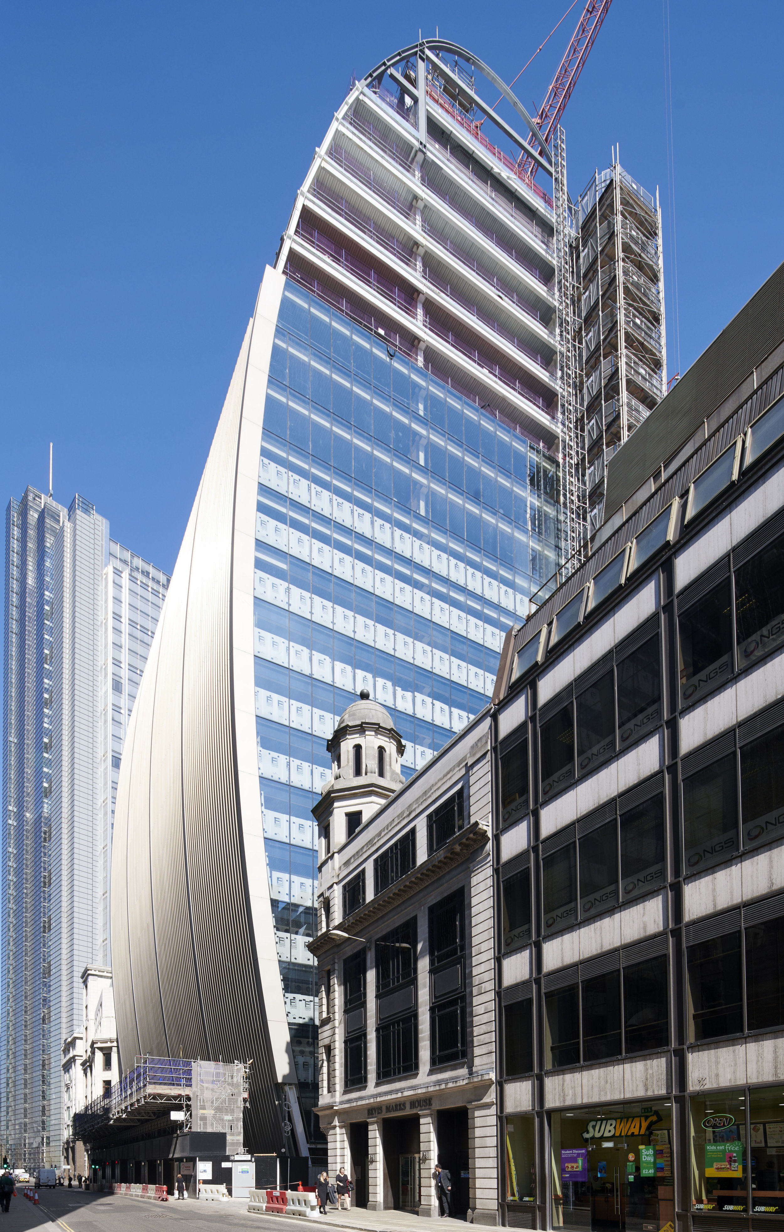 70 St Mary's Axe London for Trad Safety Systems