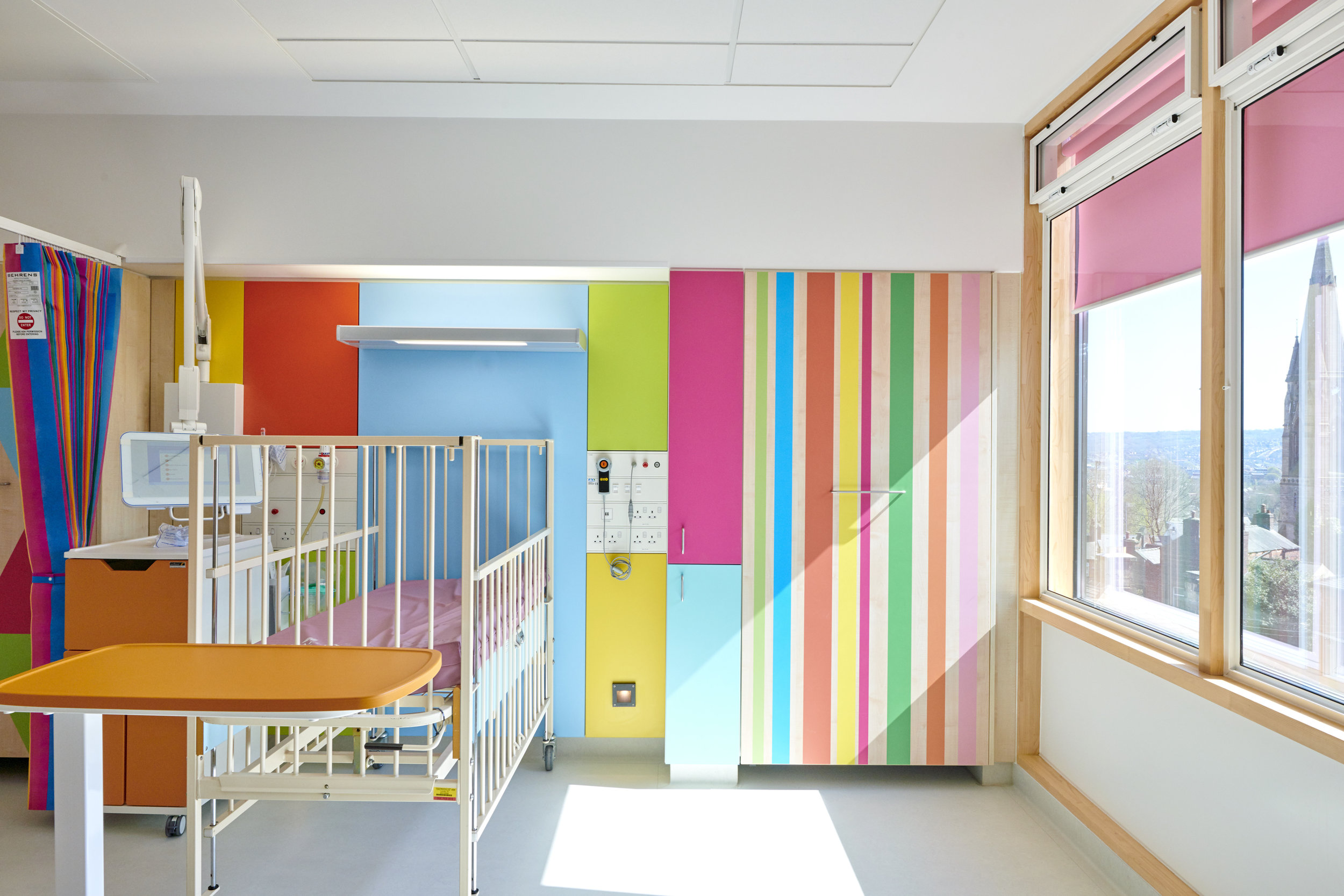 Sheffield Childrens Hospital for Simons Construction