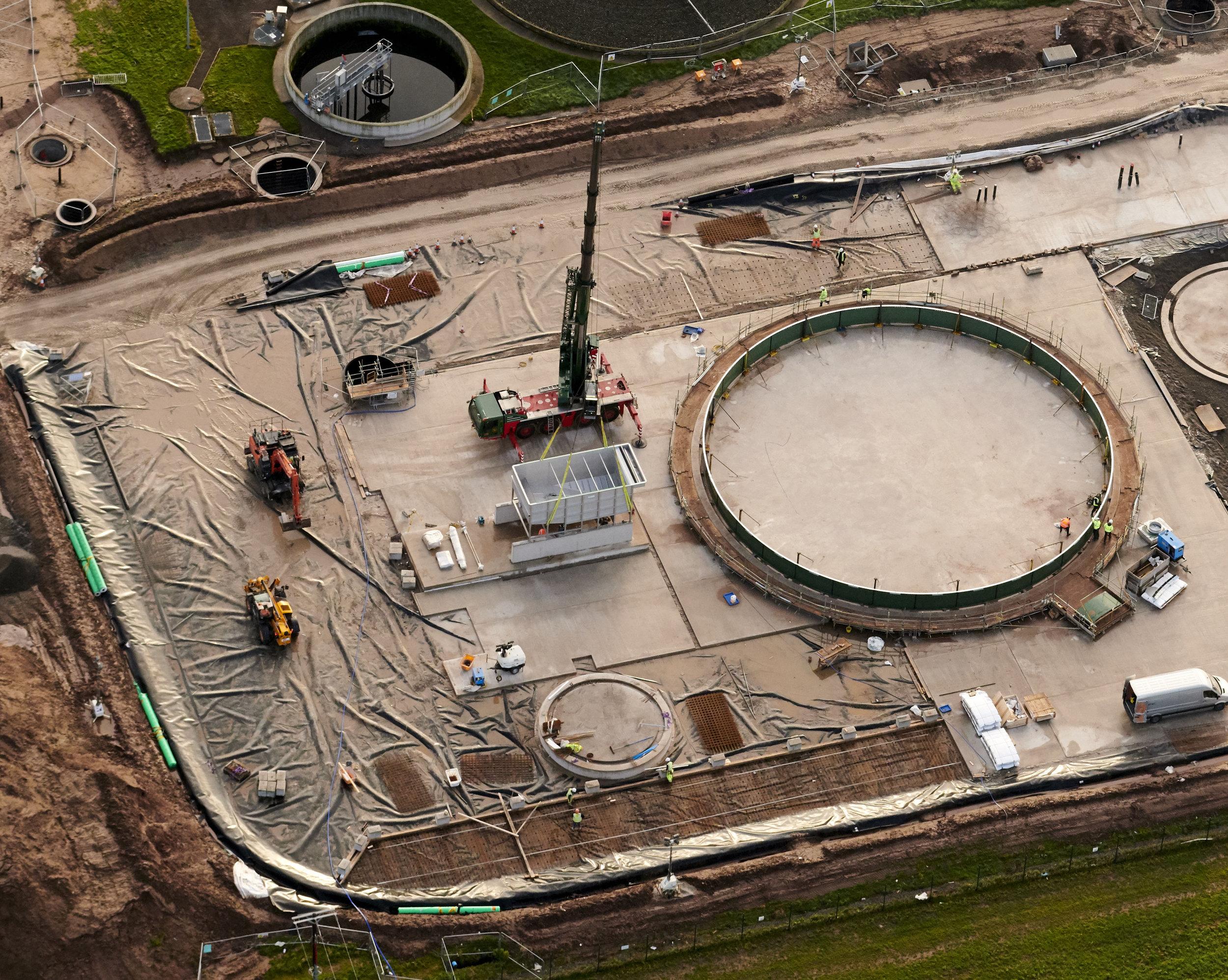 Construction progress photography C2V