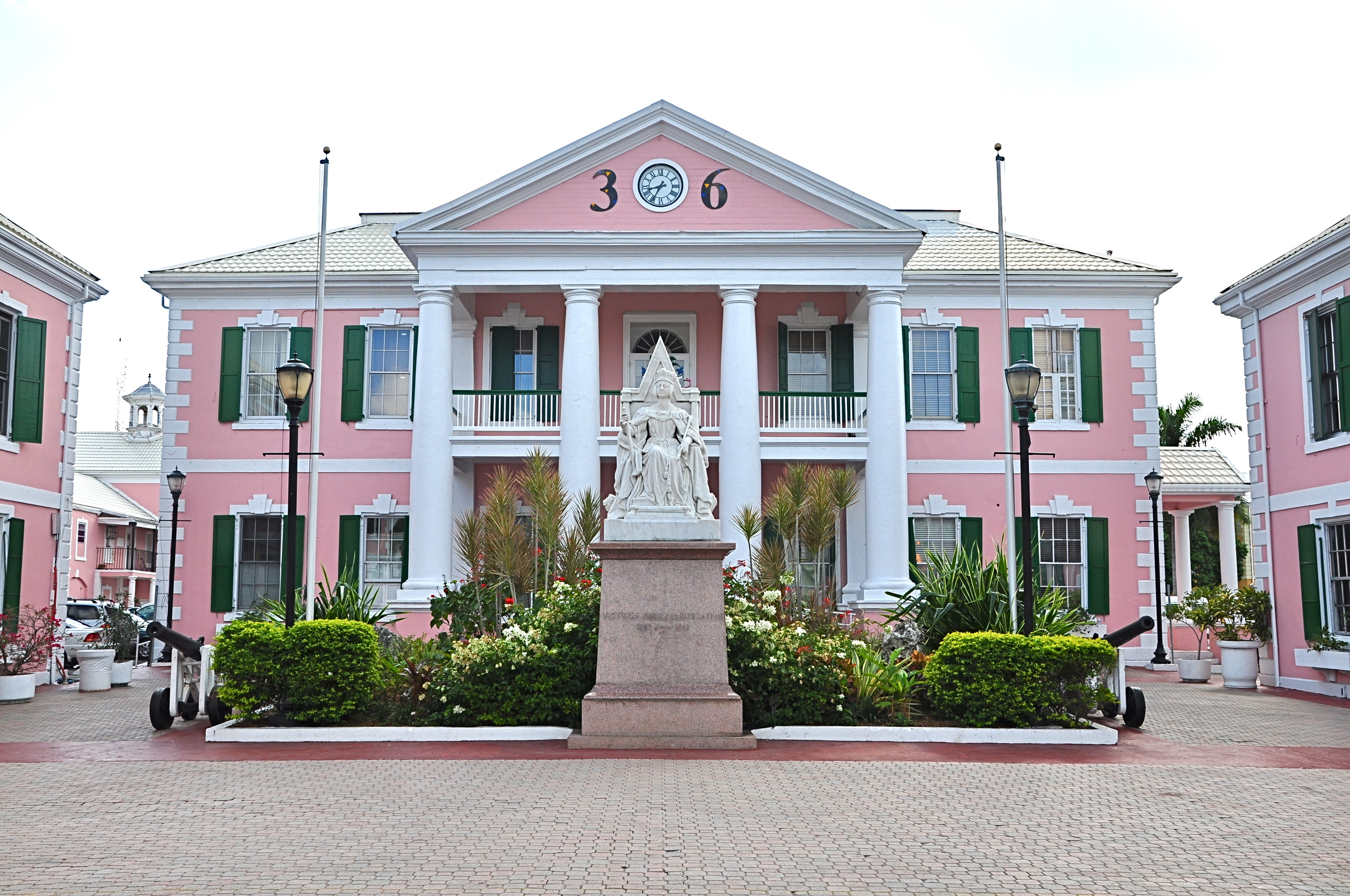 House of Parliament, Nassau, Bahamas