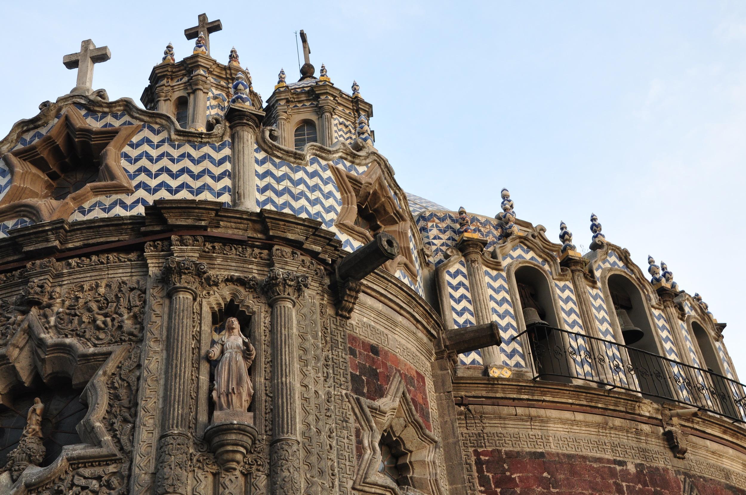 Basilica de Guadaloup, Centro Historico, Mexico City