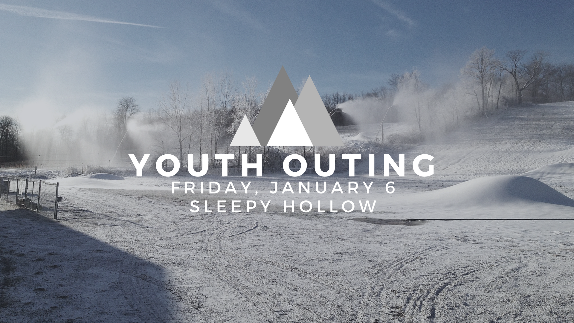 Gateway Youth (Middle &High school students)will be taking the slopes of Sleepy Hollow after a pizza dinner! Contact nate@thegatewaychurch.com for more details!