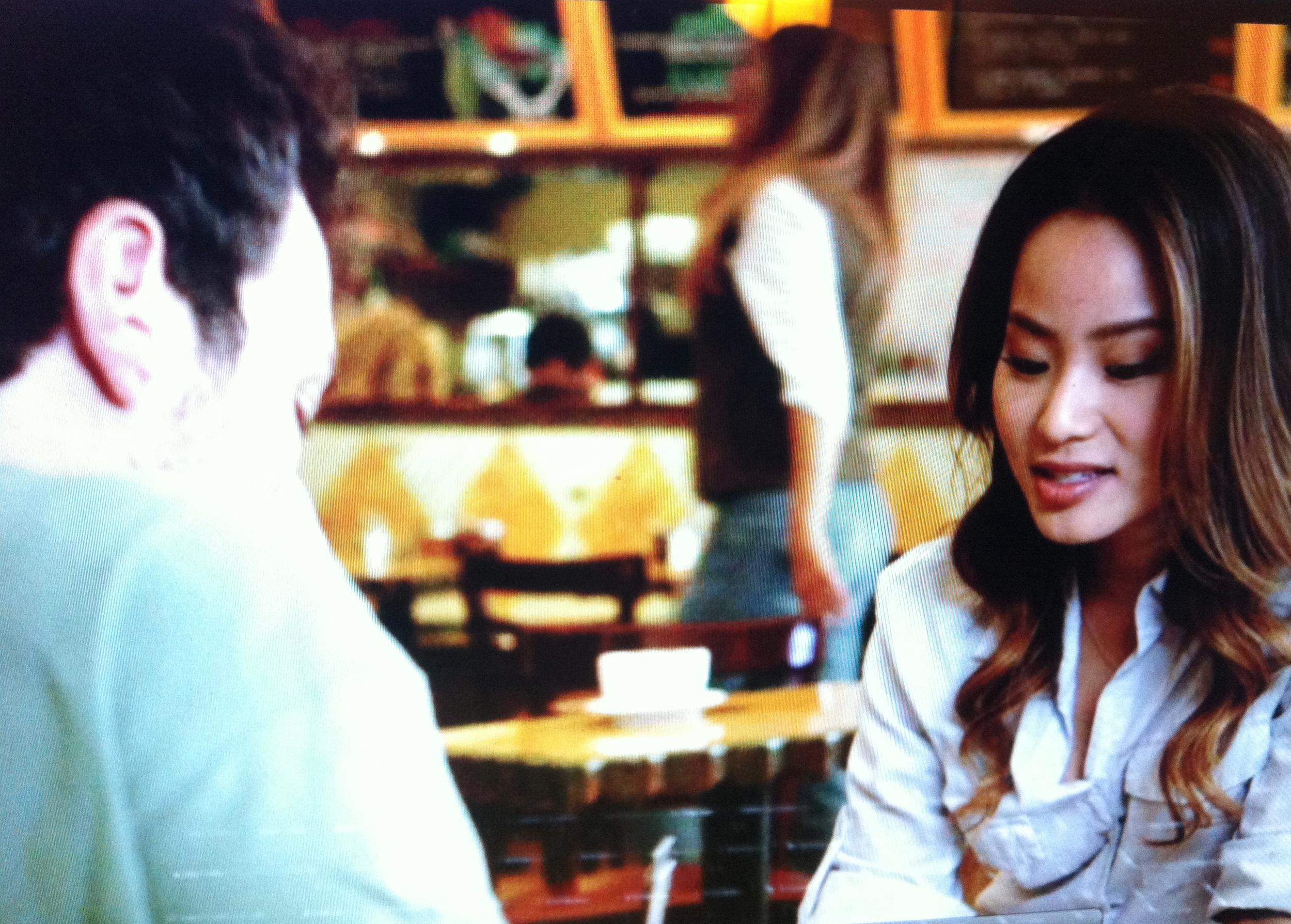 With Jamie Chung