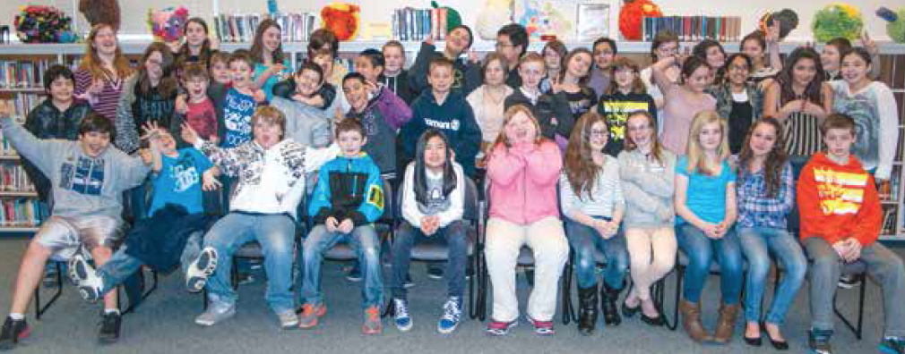 Ms. Cichosz's 6th grade class at Longview's Monticello Middle School wrote haikus for the event.