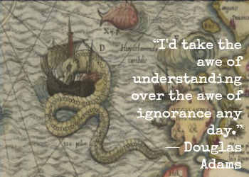 Douglas Adams and Olaus Magnus with Hypnotherapist in Central London Image