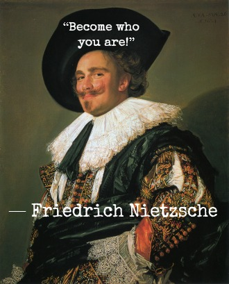 Friedrich Nietzsche and Frans Hals with Hypnotherapist in Central London Image