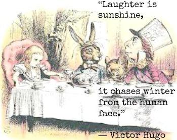 Victor Hugo and John Tenniel