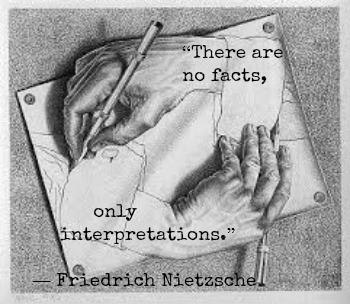 Friedrich Nietzsche and M.C. Escher with Hypnotherapist in Central London image