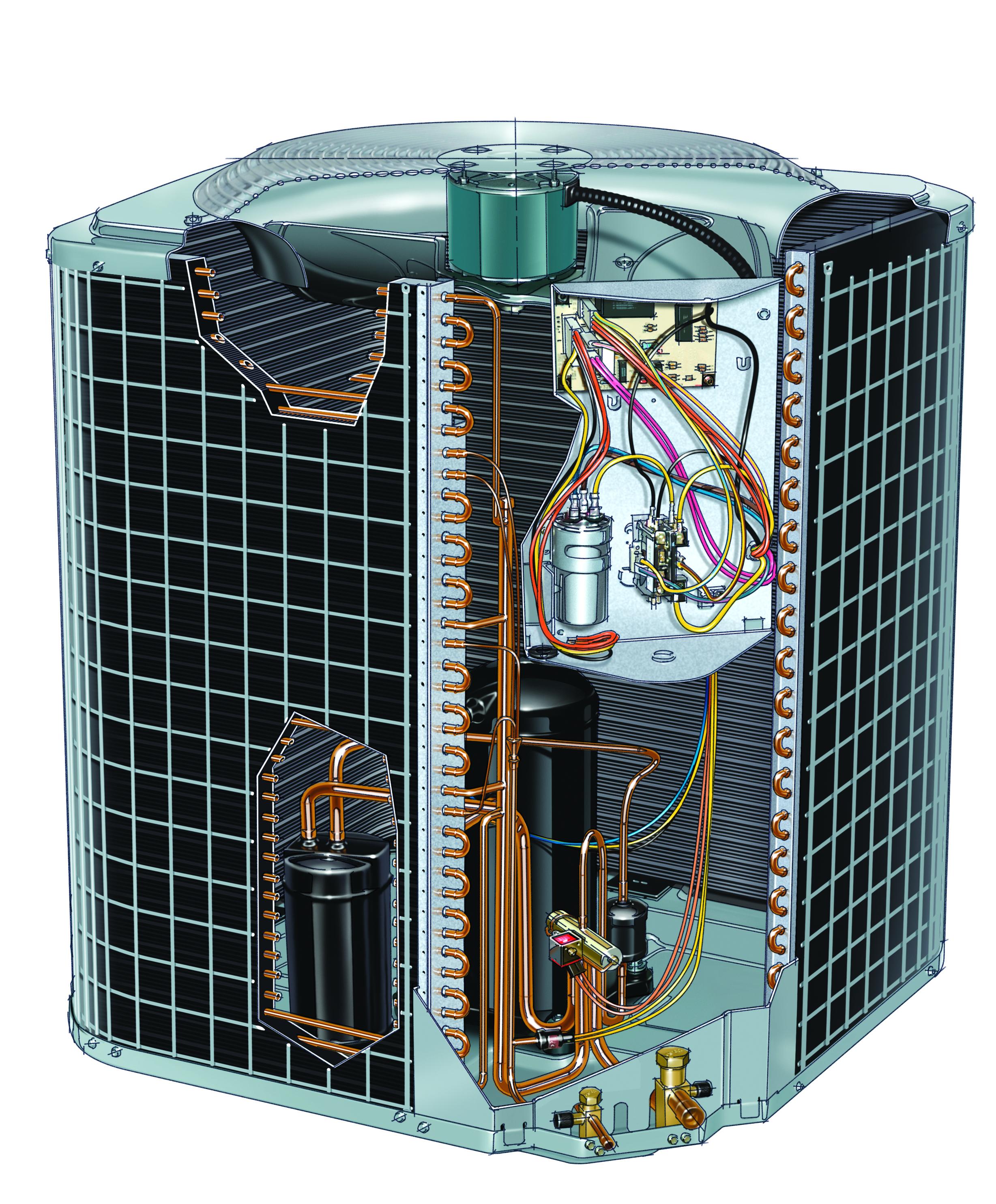 N-Series Heat Pump Cut-away