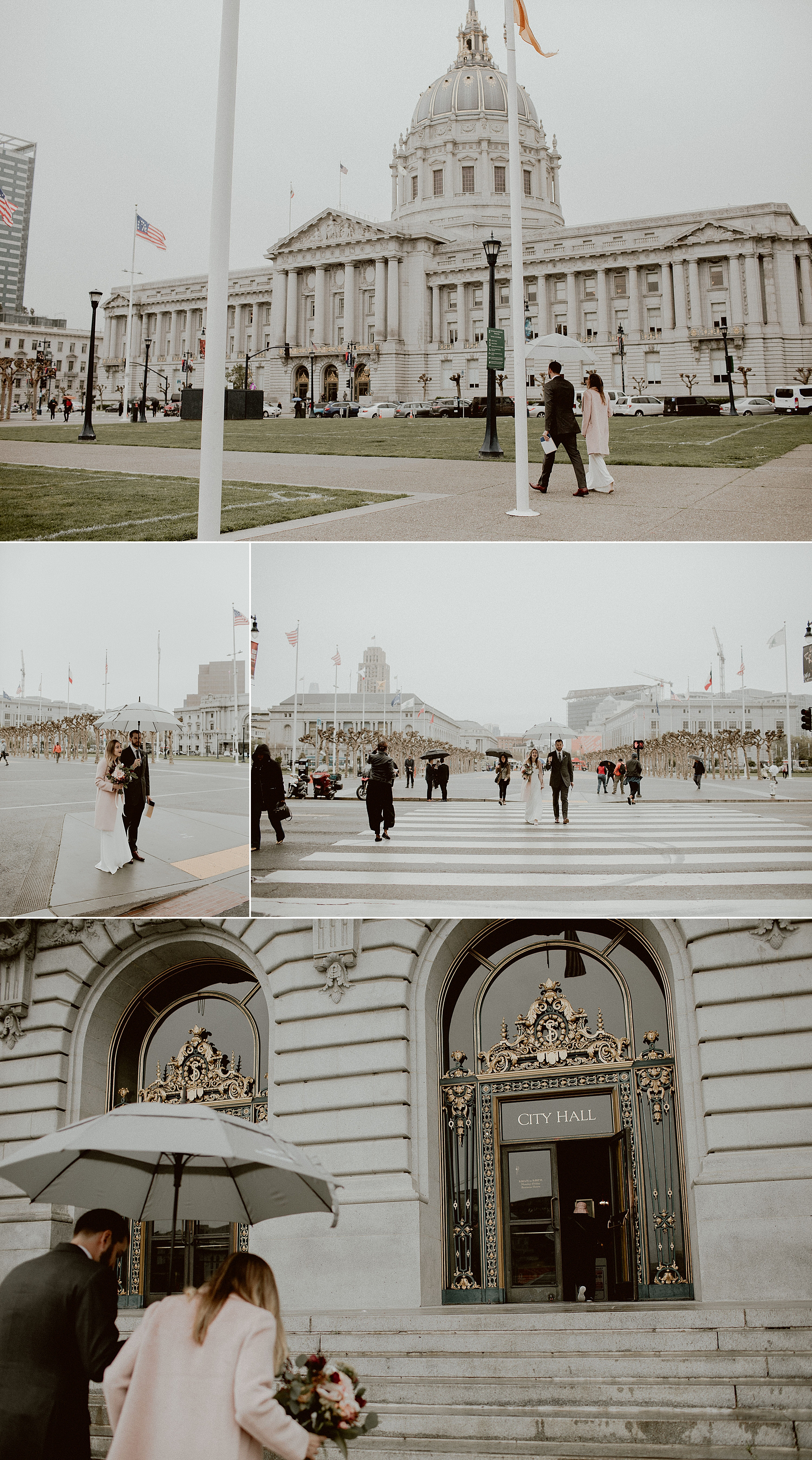 Intimate San Francisco City Hall Wedding | Gretchen Gause Photography #theknotwedding #sfcityhallwedding #sfwedding #sfweddingphotographer #sfelopement #intimatewedding #cityhallwedding