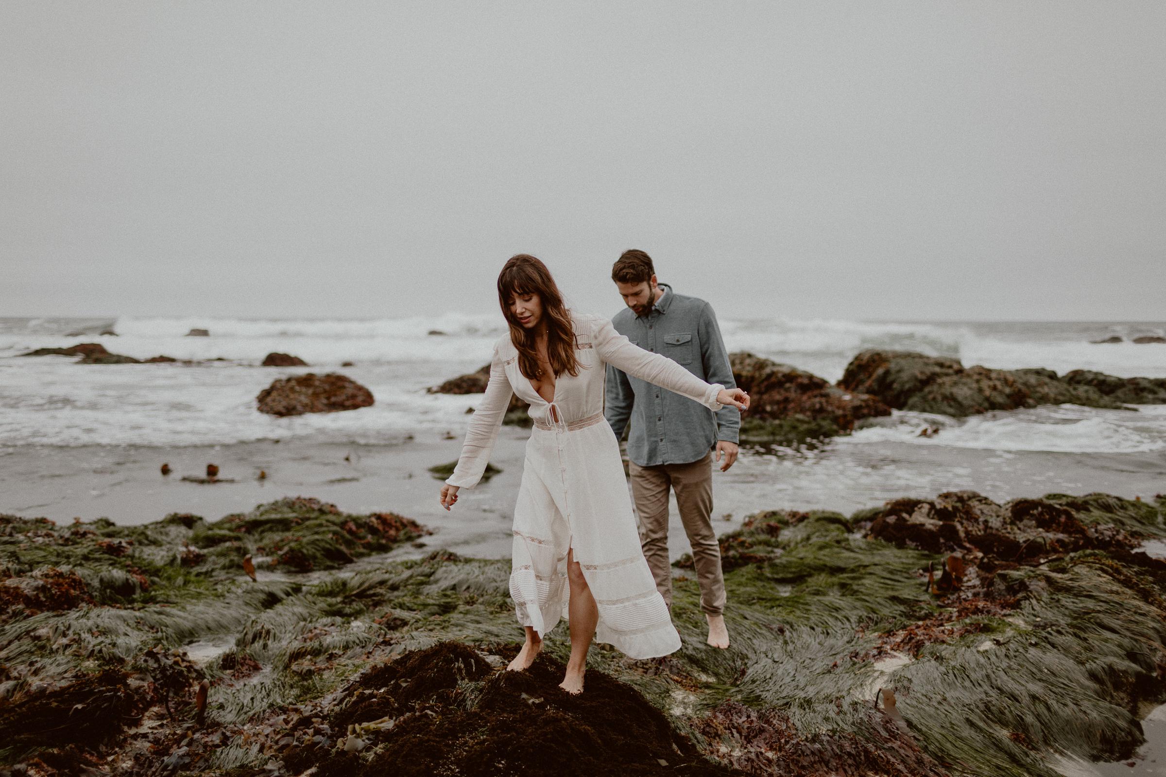 Romantic Bodega Bay Engagement Session | Gretchen Gause Photography #theknotwedding #romanticshoot #couplesshoot #sfweddingphotographer #sfelopement #engagementsession #bodegabay #gretchengausephotography