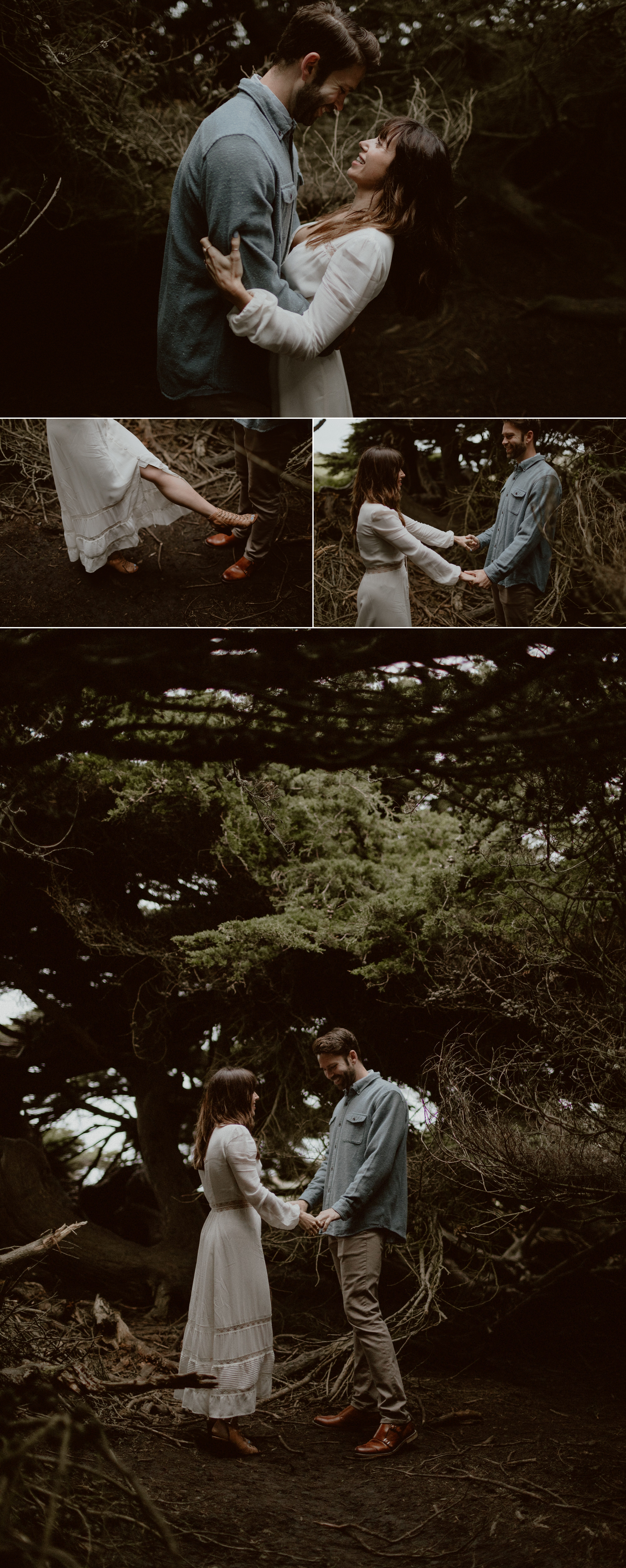 Romantic Bodega Bay Engagement Session | Gretchen Gause Photography #theknotwedding #romanticshoot #couplesshoot #sfweddingphotographer #sfelopement #engagementsession #bodegabay