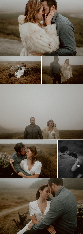 Foggy Bodega Bay Engagement // Gretchen Gause Photography