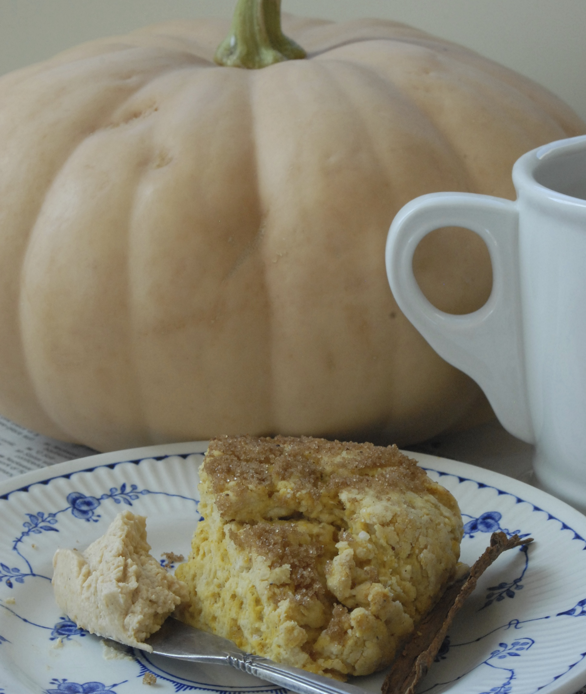Pumpkin Pie Scone & Coffee