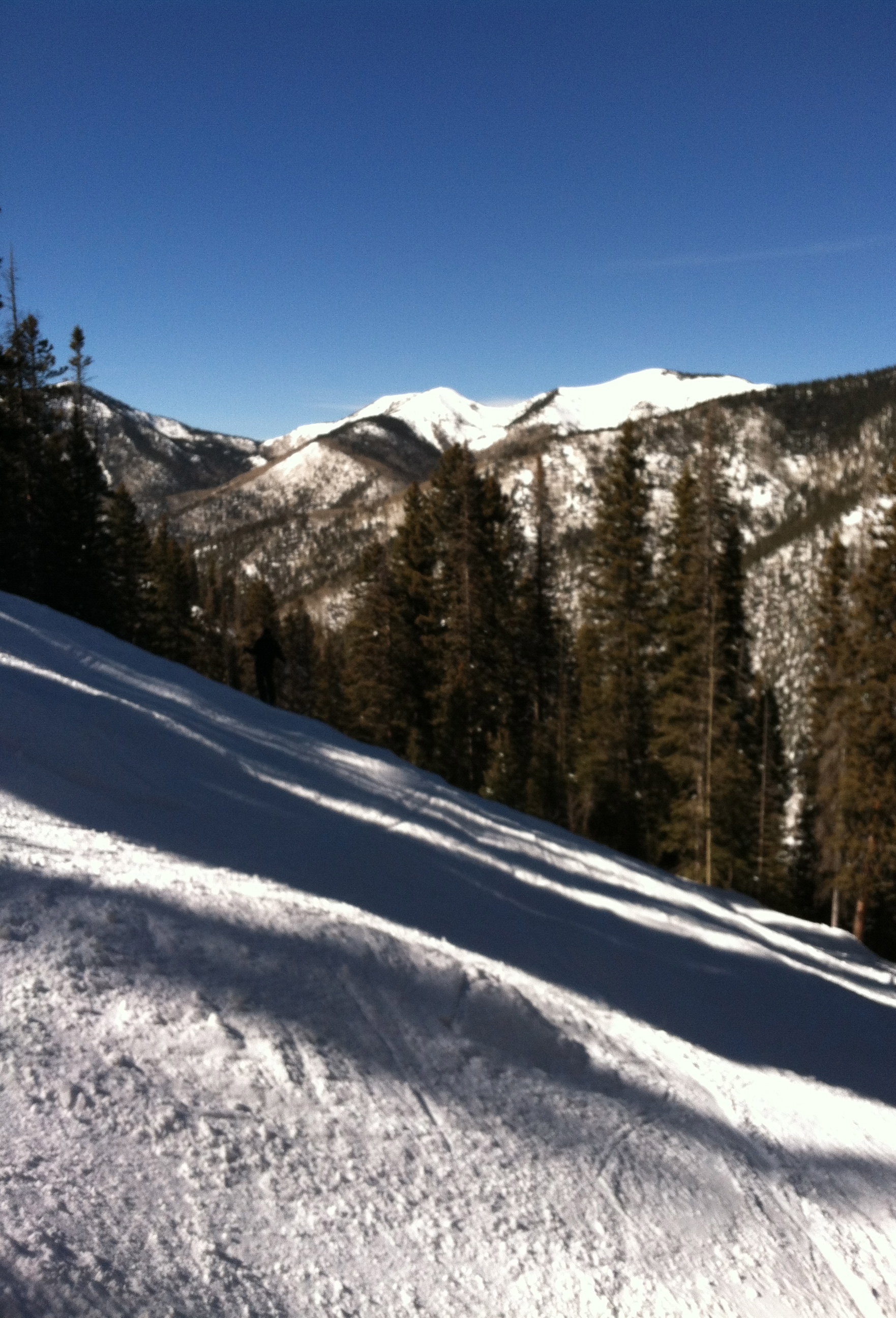 Taos Valley ski slope
