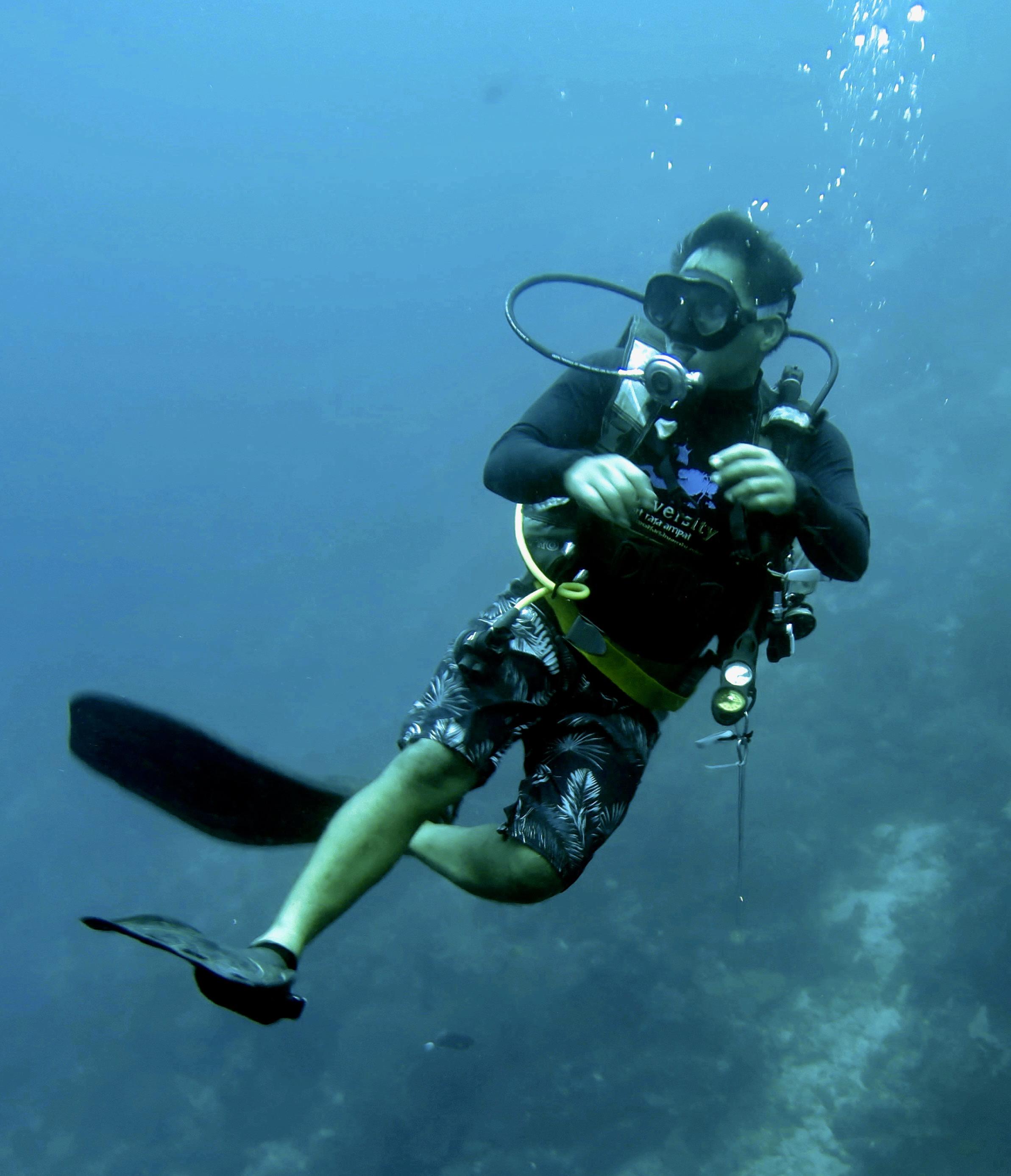 tropical diving