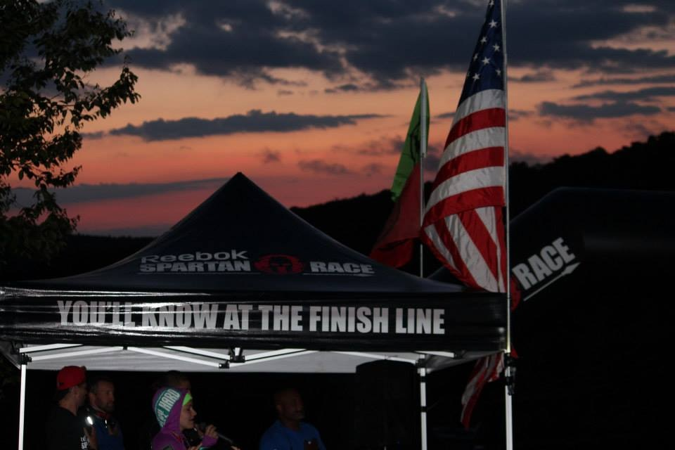 This is what we all saw at the starting line.  Photo courtesy of Amanda Manz Ricciardi