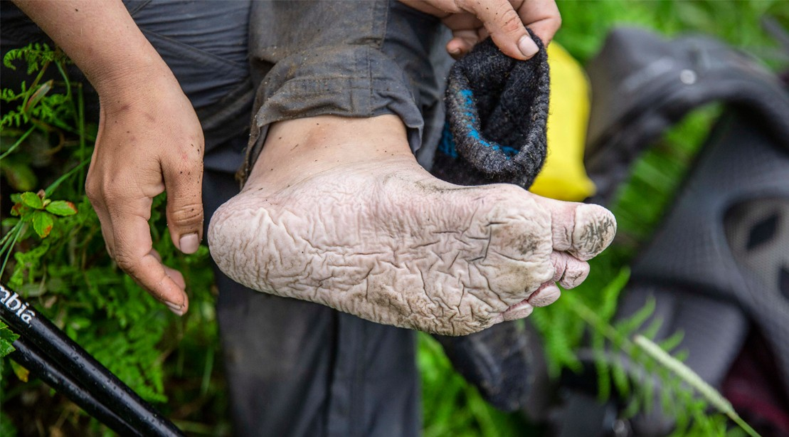 More specifically… what people's feet looked like.    Photo Credit:    Amanda Suarez / M+F Magazine