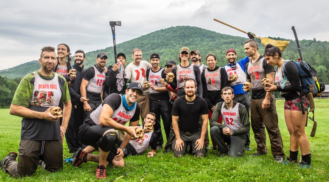 The official finishers of the 2019 Spartan Death Race!    Photo Credit:    Amanda Suarez / M+F Magazine
