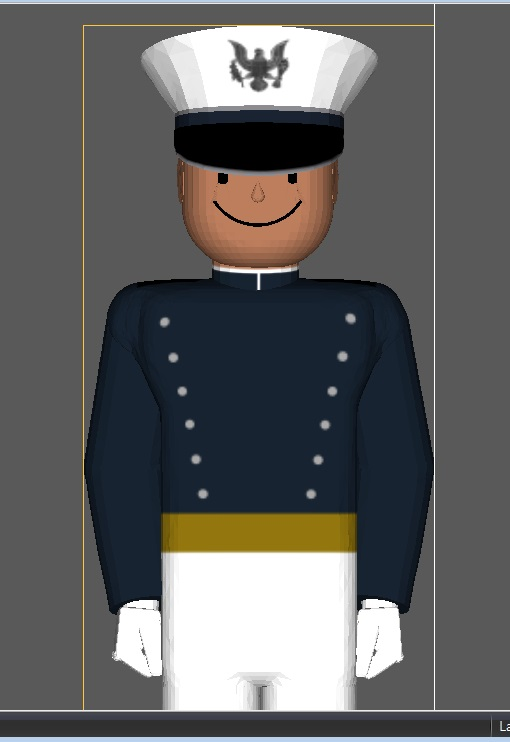 Parade dress uniform