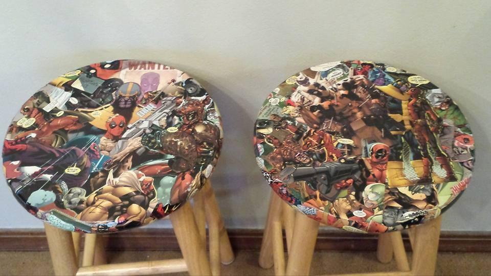 Deadpool Barstools