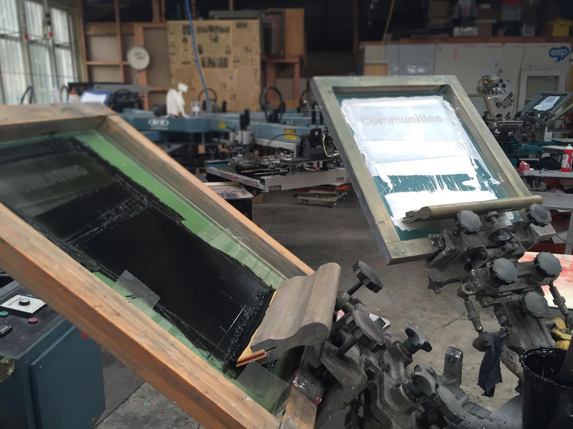t shirt screen printing auckland