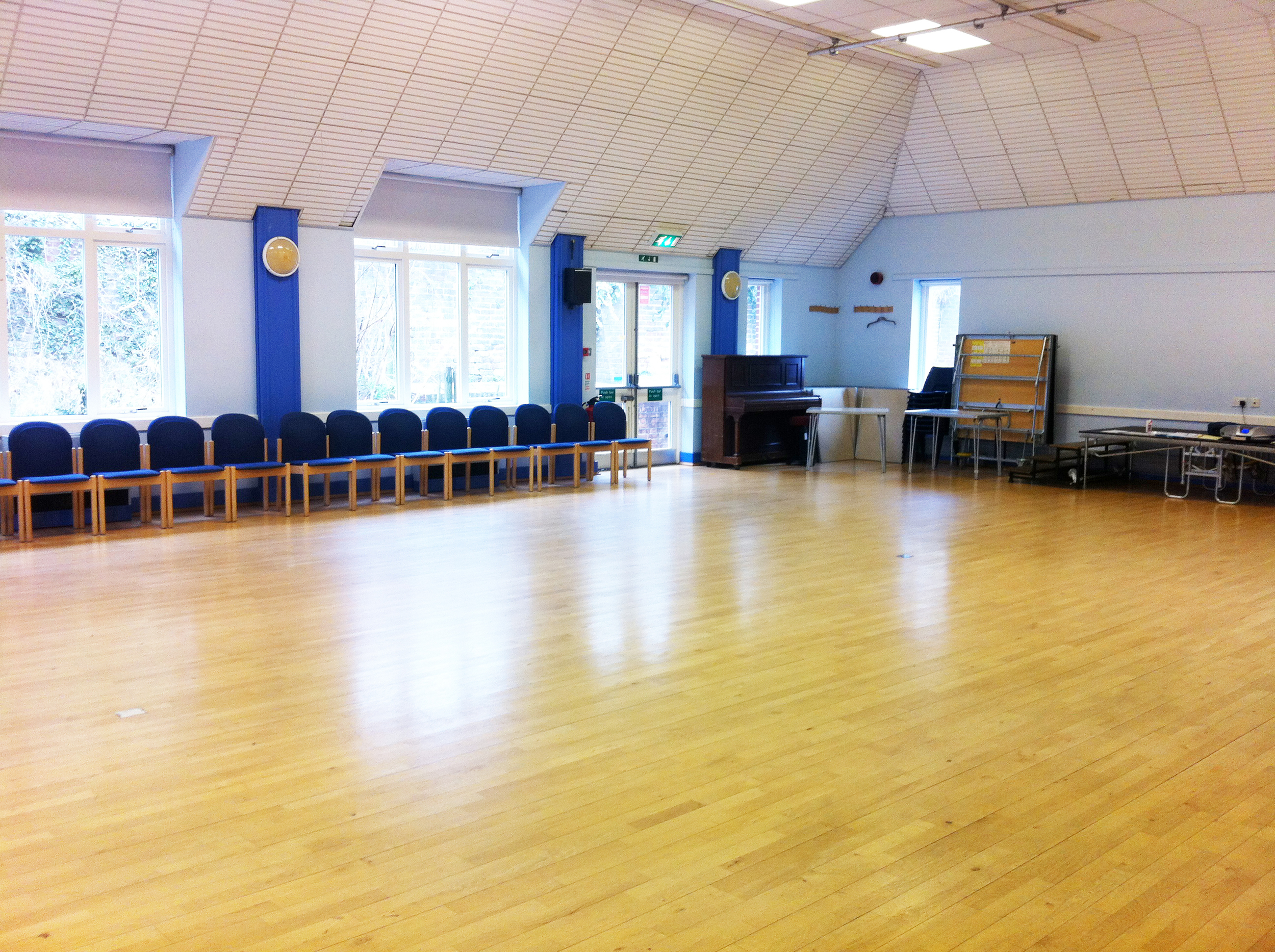 Heene Community Centre provides a superb dance space.
