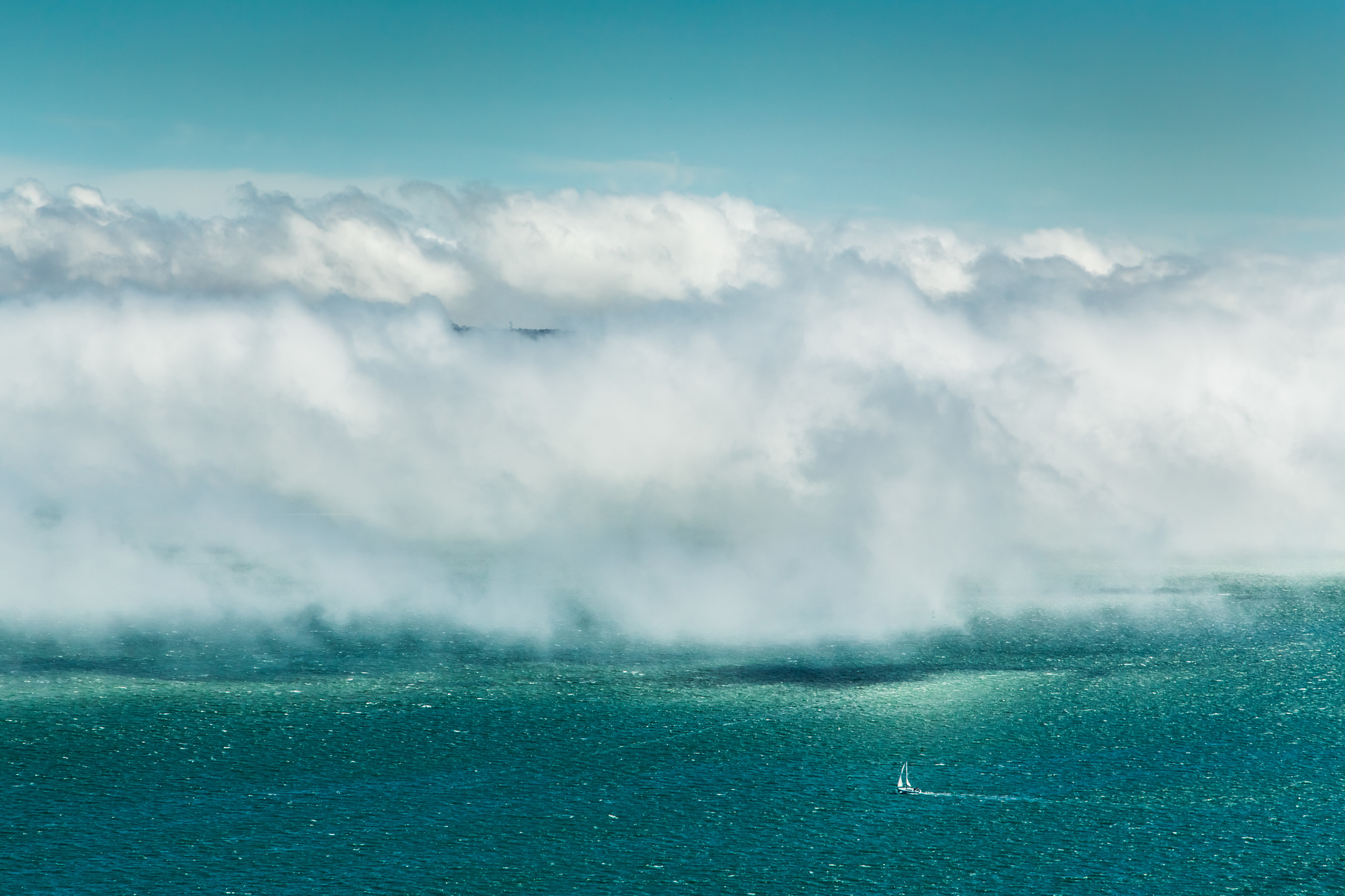 SAILING INTO THE UNKNOWN was a Finalist in Travel/Nature at Int'l Ozone Zone Photo Salon 2013