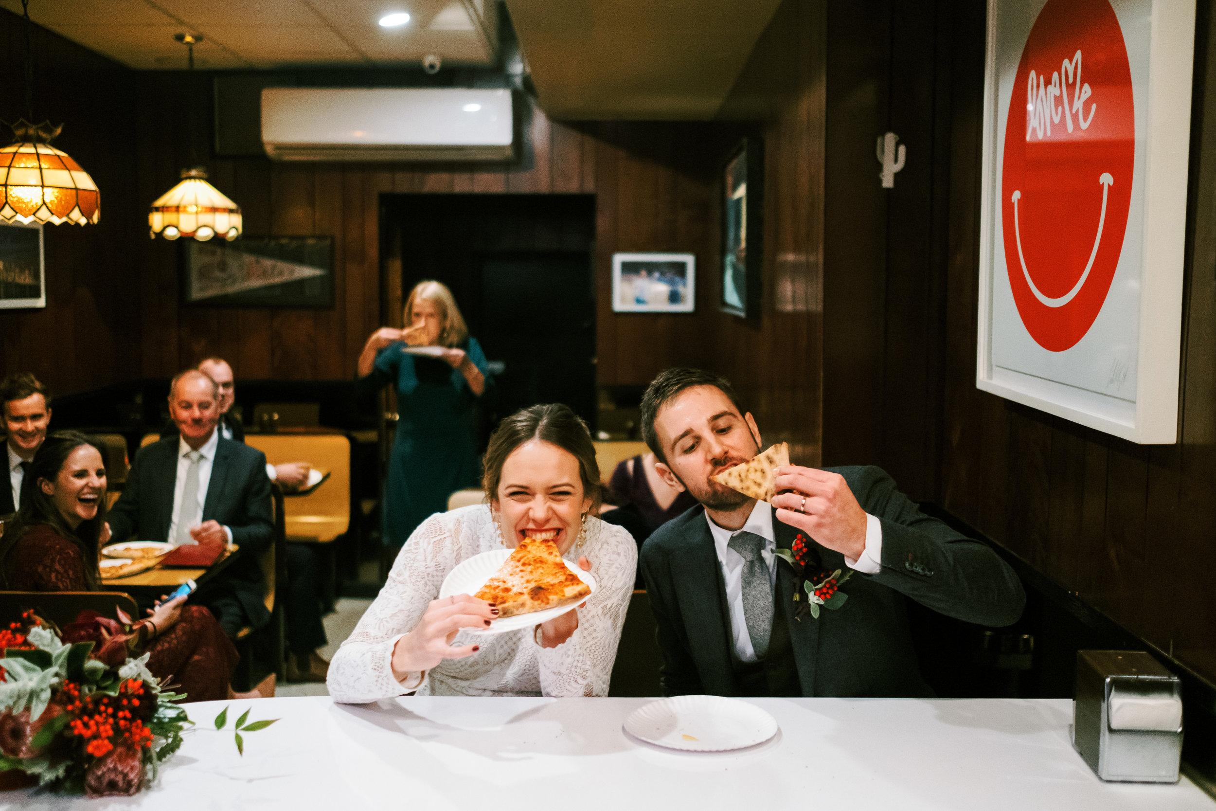 nyc wedding pizza