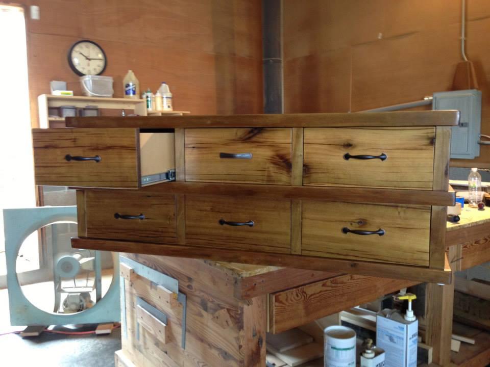Custom Built Dresser