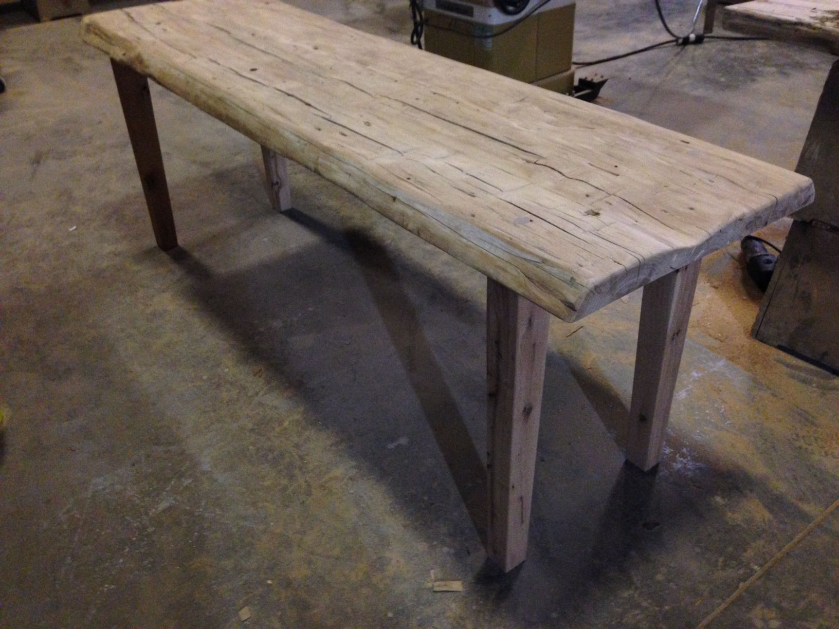 Primitive Reclaimed Wood Table