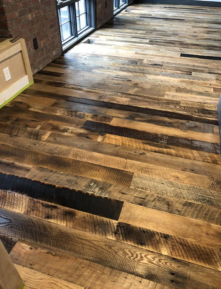 Mixed Species Flooring