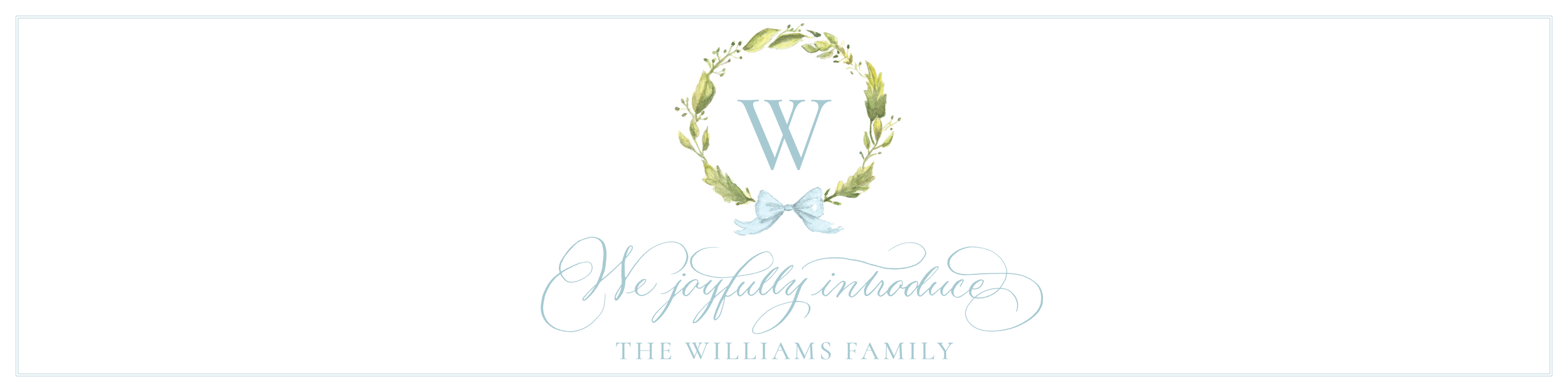The Williams Family by Sugar B Designs