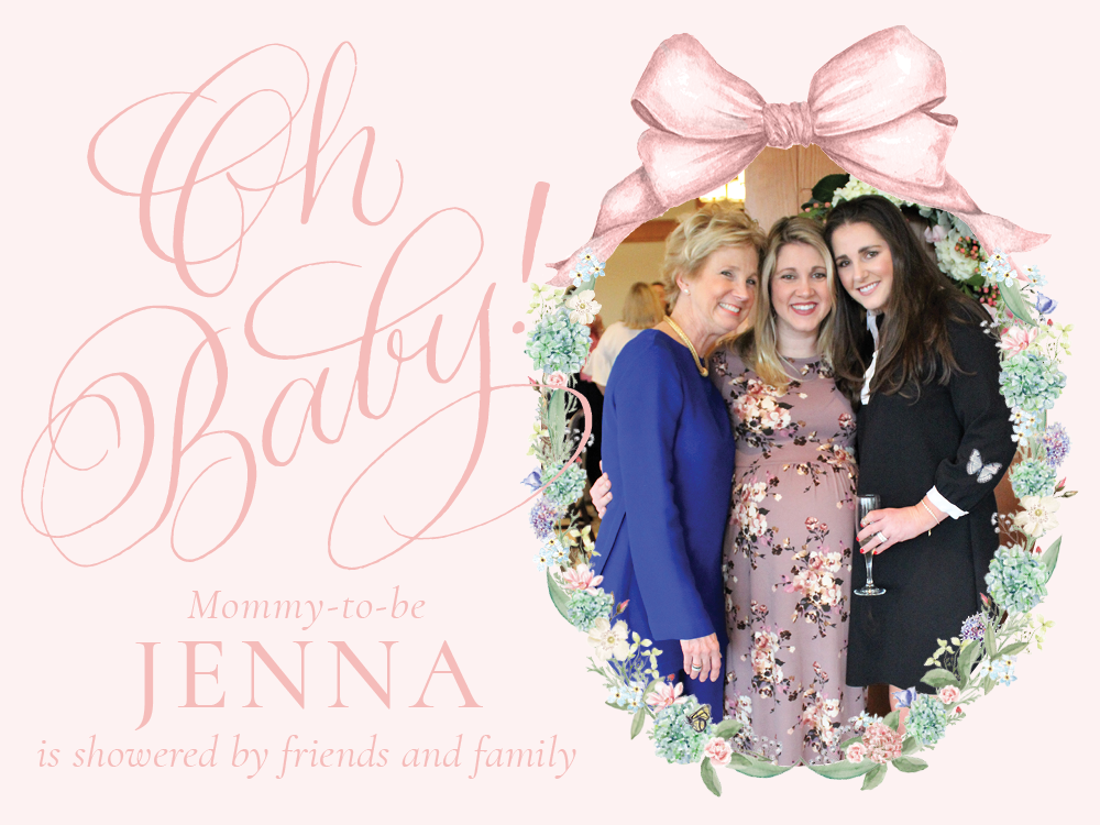 Oh Baby Jenna's Shower by Sugar B Designs