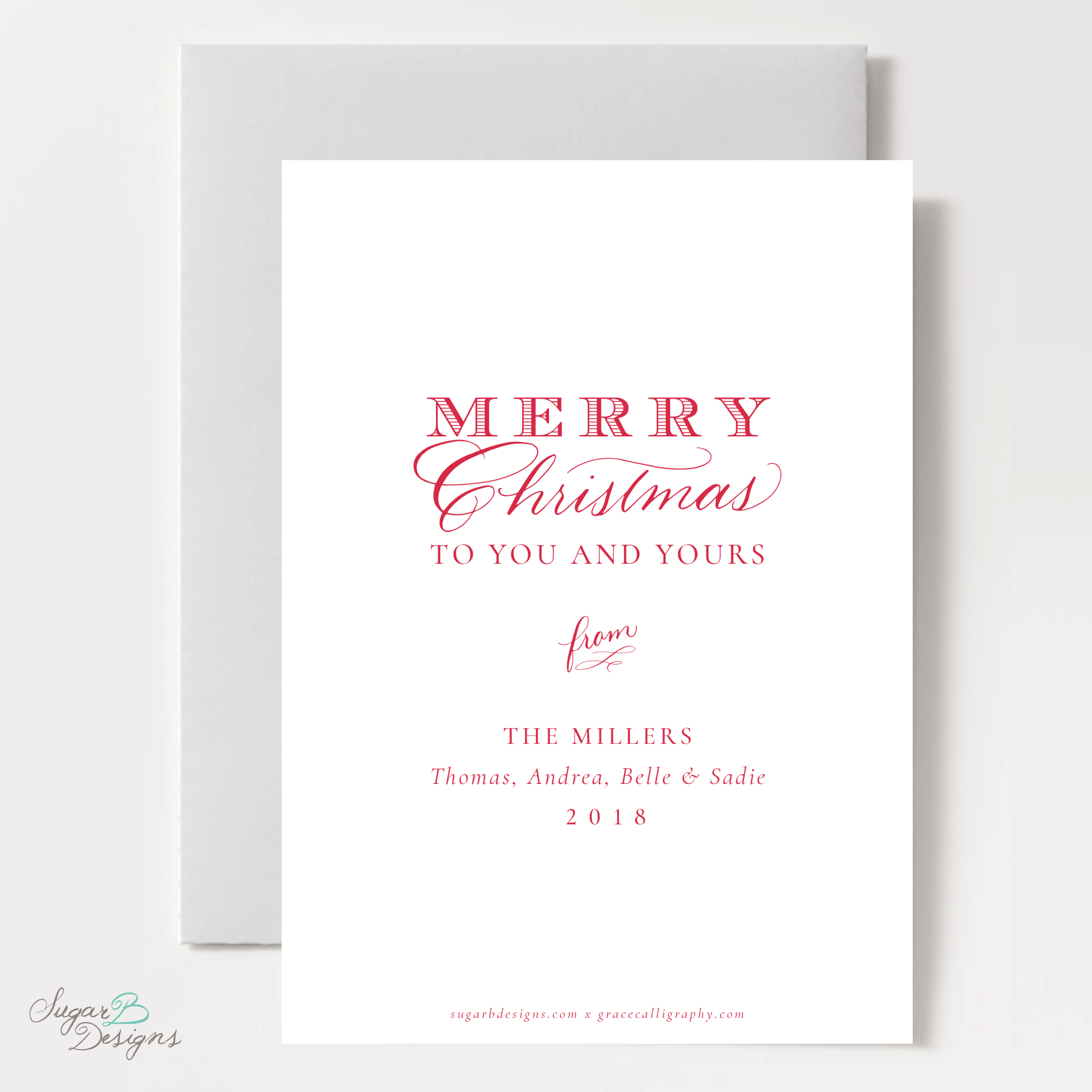 Leslee Bow Red Christmas Card backer by Sugar B Designs.png