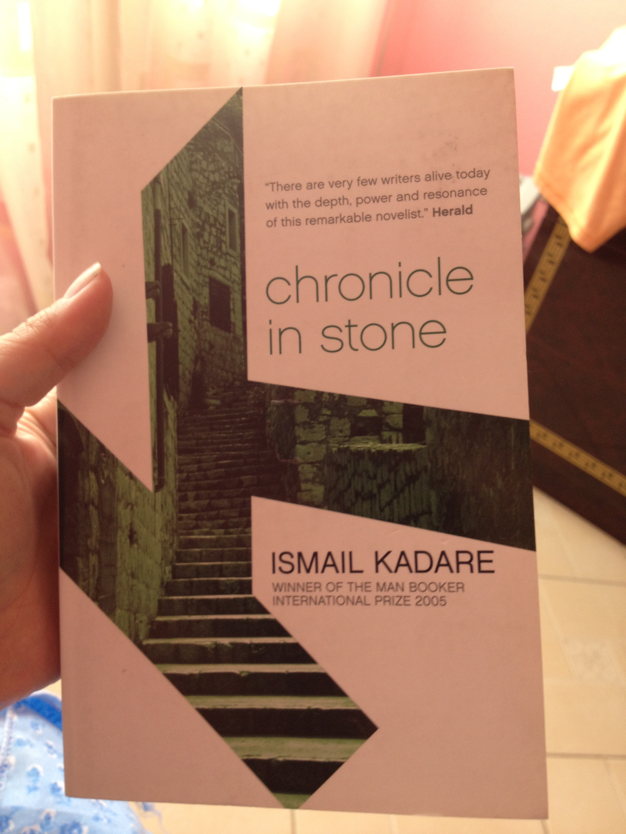 My Albanian read!