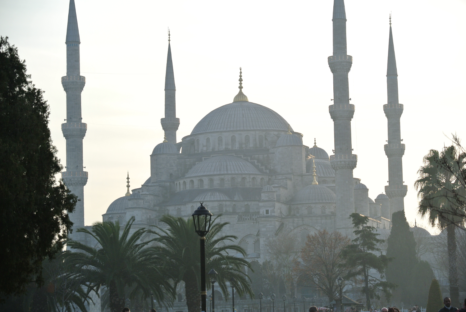 Istanbul's Blue Mosque.JPG