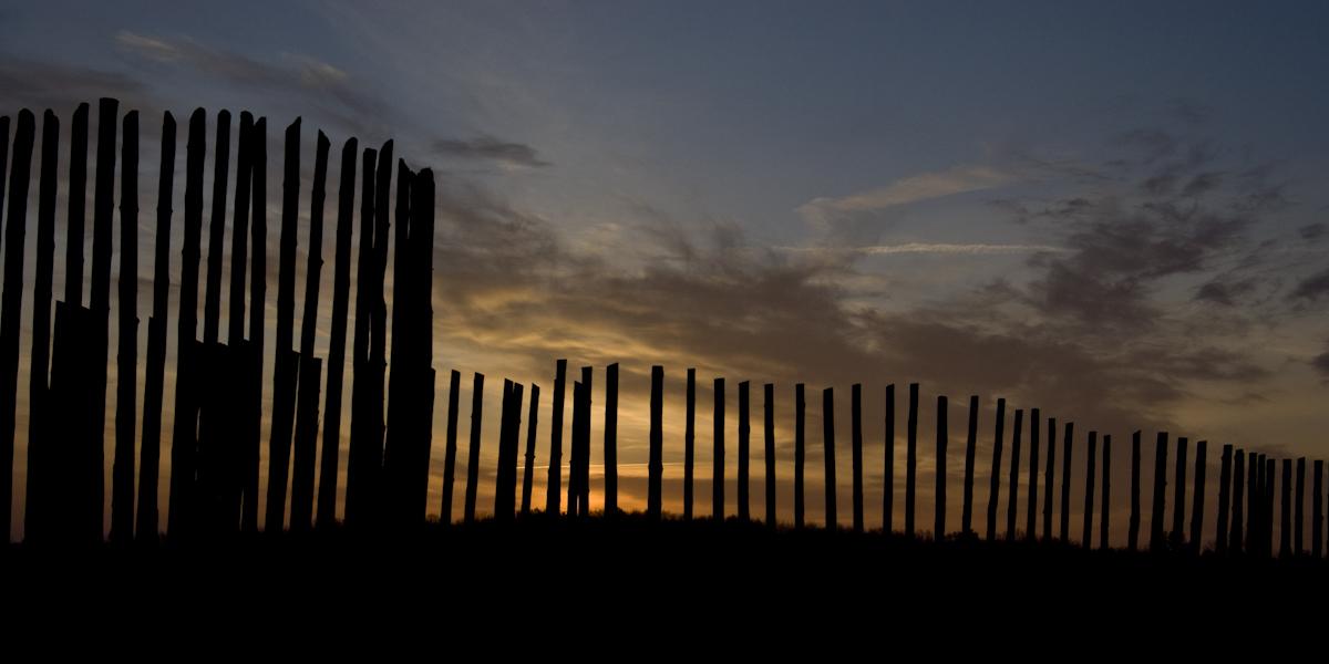 Stockade at Sunset