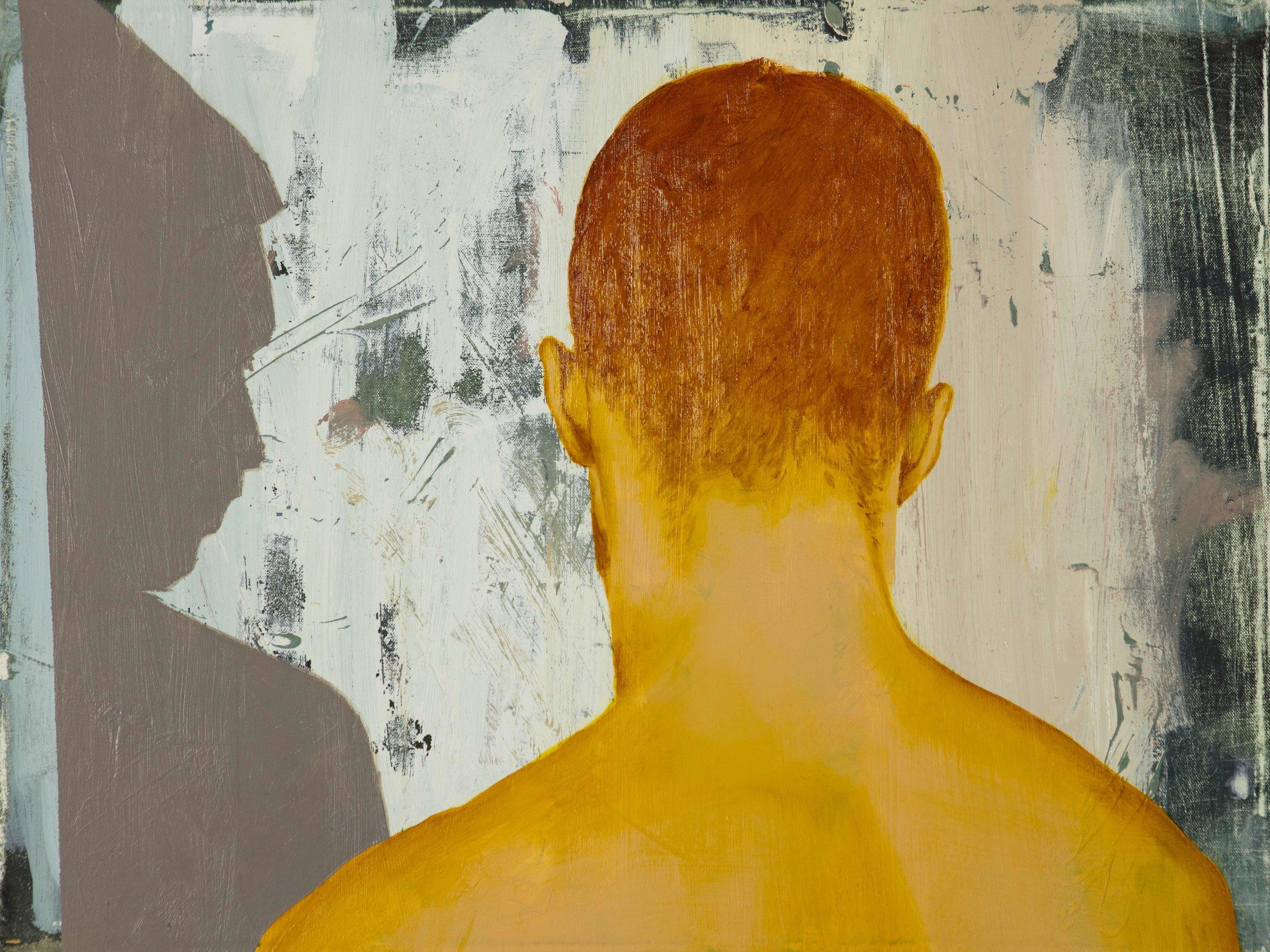 "Shame, Oil on Canvas, 18"" x 24"" ( 46cm x 70cm ) 2018"